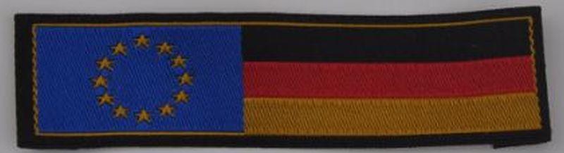 Deutschlandband mit Europazeichen links