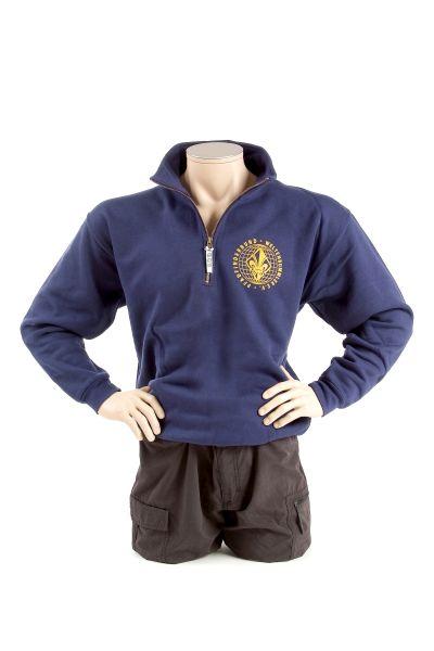 Sweat-Shirt PbW -RV-Kragen-