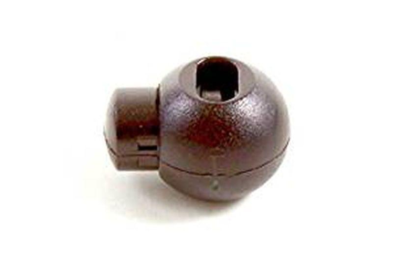 Tanka Verschluss - rund - schwarz