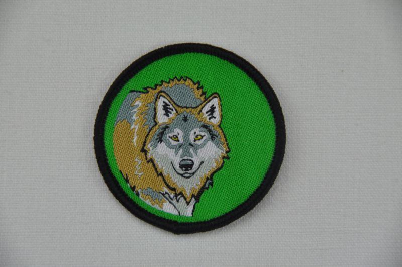 Aufnäher Sippenabzeichen Wolf 1-10