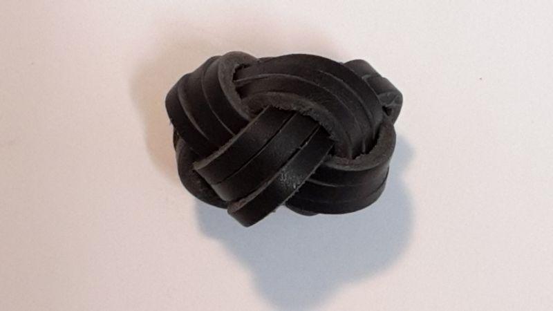 Türkenbund, geflochten eng , schwarz