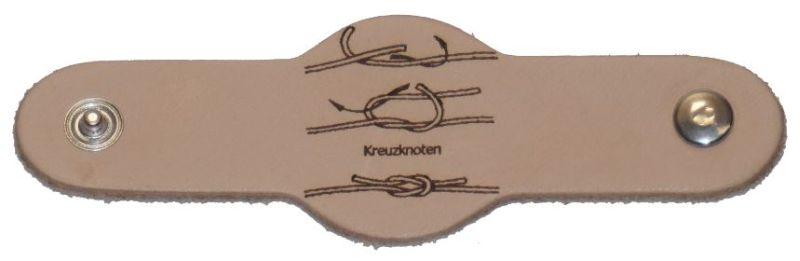 Halstuchring -gelasert- Kreuzknoten