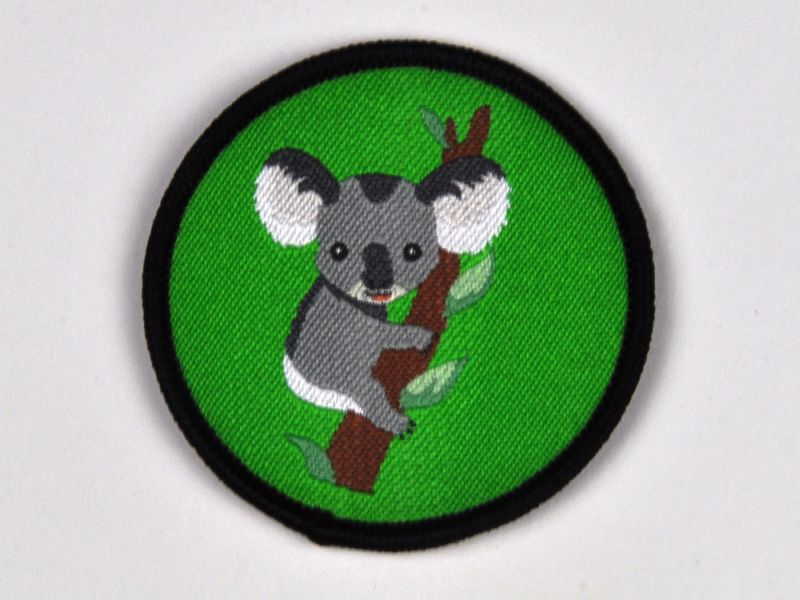 Aufnäher Sippenabzeichen Koala 31-50