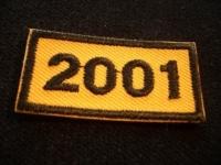 Jahresabzeichen 2001