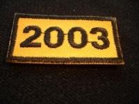 Jahresabzeichen 2003
