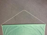 Banner - Lutherrose (100 x 250 cm)