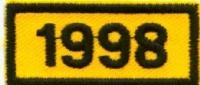 Jahresabzeichen 1975 +1990-2000