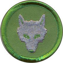 Wolfskopf, grün