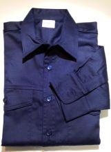 Klufthemd, dunkelblau, langarm ohne Schulterklappe