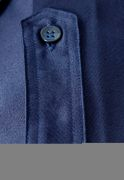 Klufthemd, dunkelblau - langer Arm -