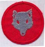 Wolfskopf, rot