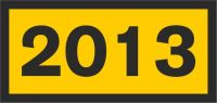 Jahresabzeichen 2013