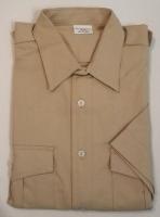 Pfadfinderhemd, beige/khaki, -Kurzer Arm-
