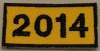 Jahresabzeichen 2014