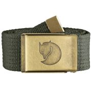 F.R. Canvas Brass Belt 4 cm