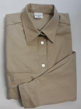 Pfadfinderhemd, beige/khaki, -Langer Arm-