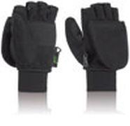 F Handschuhe Klapp-Fäustl - schwarz L