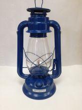 Petroleumlampe - 30cm, blau