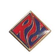 R/R-Metallabzeichen