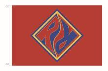 A. Ranger/Rover-Fahne, Normgröße