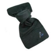 Fleece-Schal, bestickt