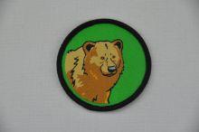 Aufnäher Sippenabzeichen Bär 31-50