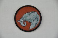 Aufnäher Sippenabzeichen Elefant 31-50
