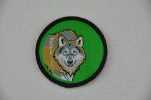 Aufnäher Sippenabzeichen Wolf 11-30