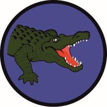 Aufnäher Sippenabzeichen Krokodil 31-50