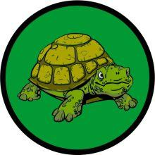 Aufnäher Sippenabzeichen Schildkröte 31-50