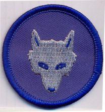 Wolfskopf, blau