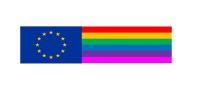 Rainbowband mit Europaabzeichen