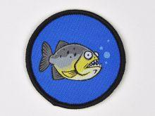 Aufnäher Sippenabzeichen Piranha 1-10